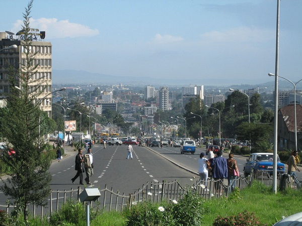 Addis Abeba, avenue Churchill